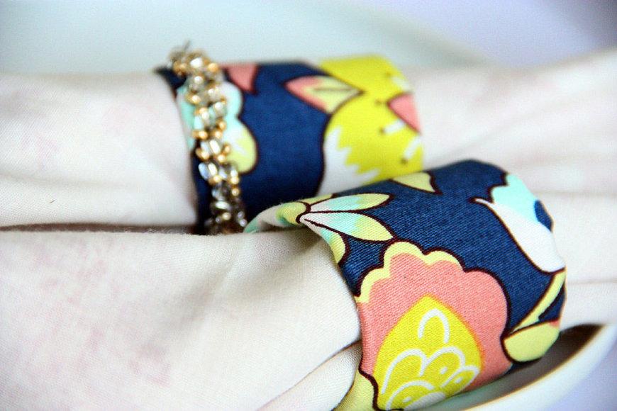 Rankdarbio idėja: servetėlių žiedai