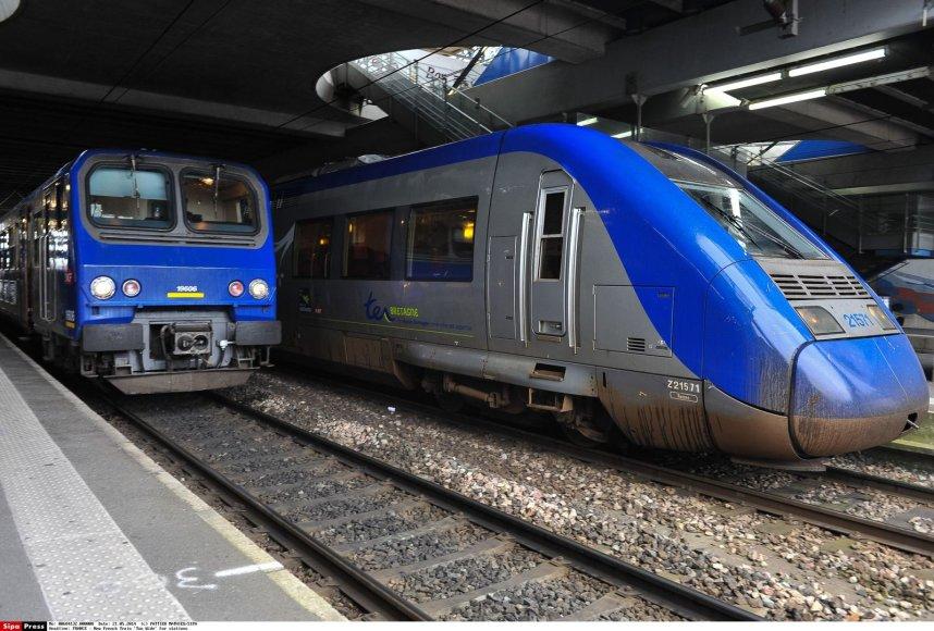 Traukiniai Prancūzijoje