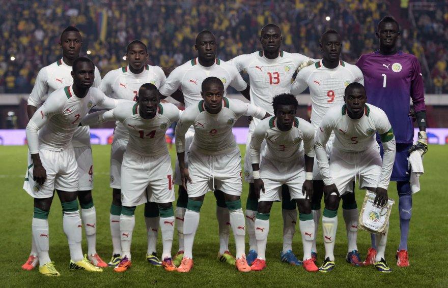"""""""Scanpix"""" nuotr./Senegalo futbolo rinktinė"""