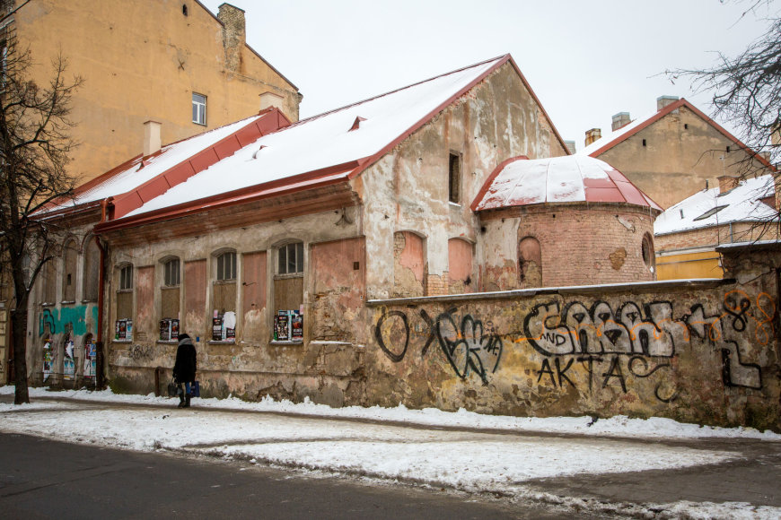 Vidmanto Balkūno / 15min nuotr./Gėlių sinagoga