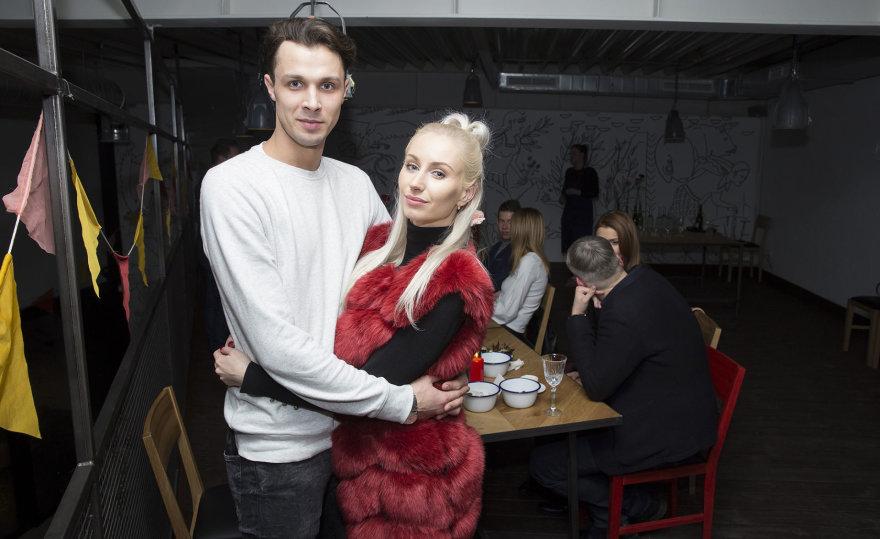 Vido Černiausko nuotr./Martynas Vaidotas ir Kristina Tarasevičiūtė