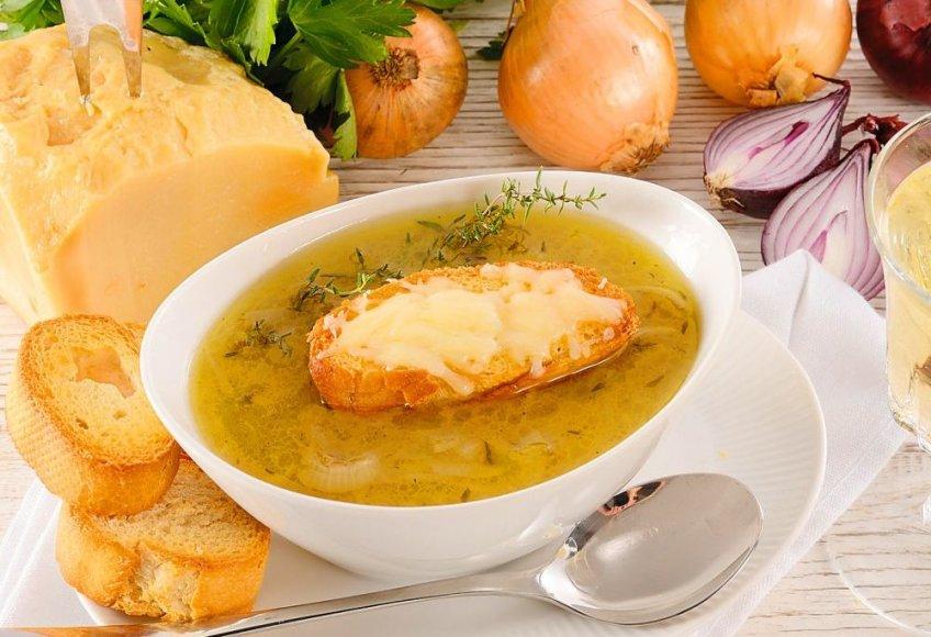 Svogūnų sriuba