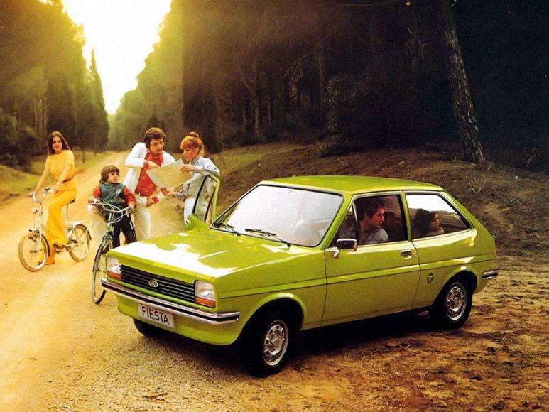 """Tomo Markelevičiaus nuotr./""""Ford Fiesta"""""""