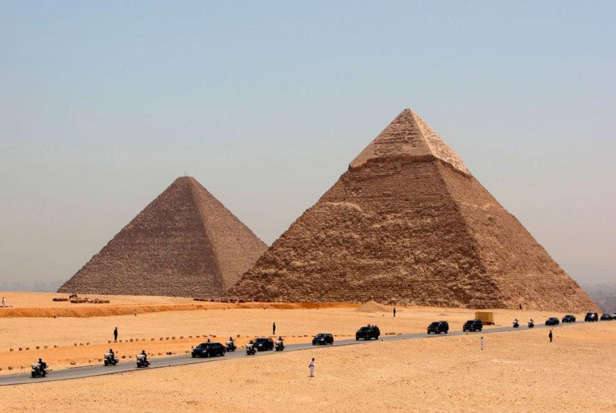 Egiptuse püramiidid.