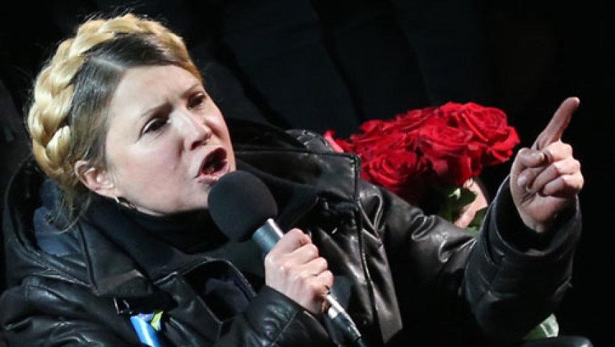 Тимошенко грозит партизанской войной в Крыму!