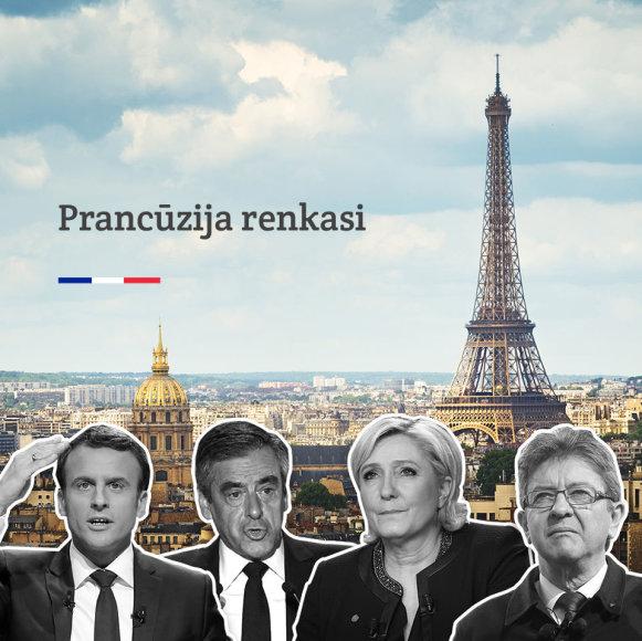 15min nuotr./2017 metų Prancūzijos prezidento rinkimai