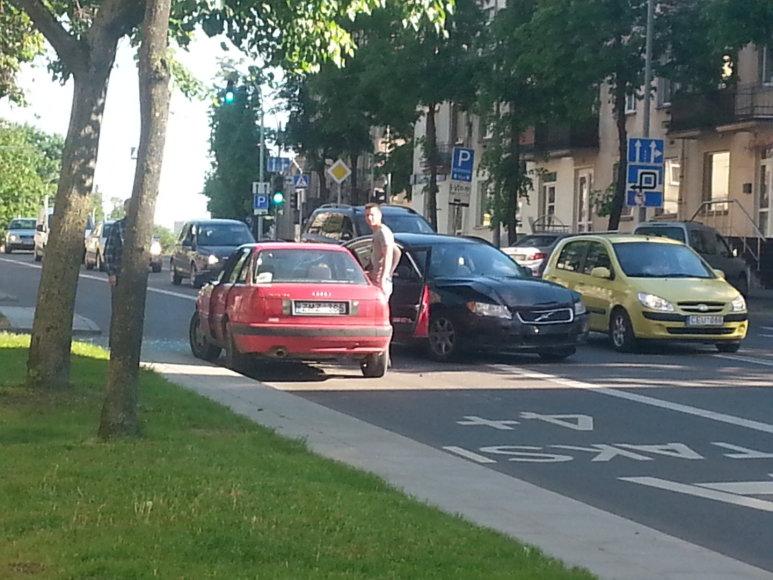 Avarija Švitrigailos gatvėje