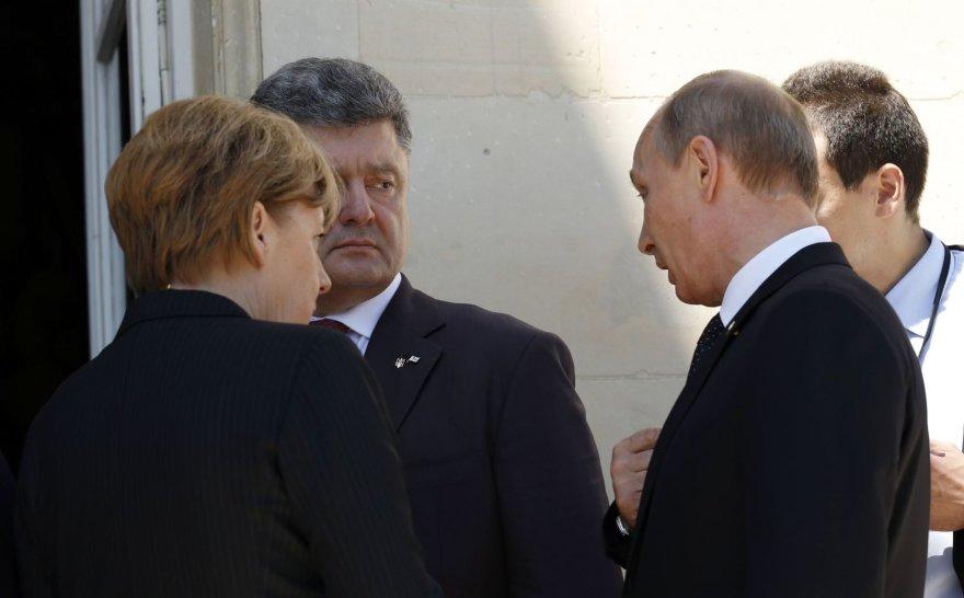 P.Porošenko ir V.Putinas