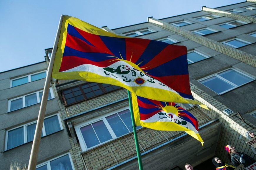 Protestas prieš Tibeto okupaciją