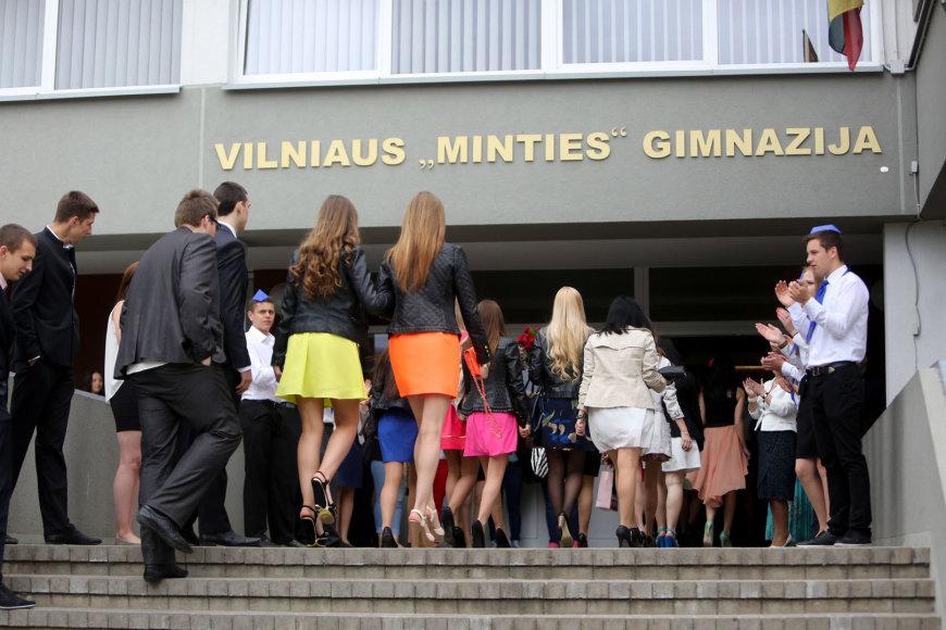 """Vilniaus """"Minties"""" gimnazijose"""