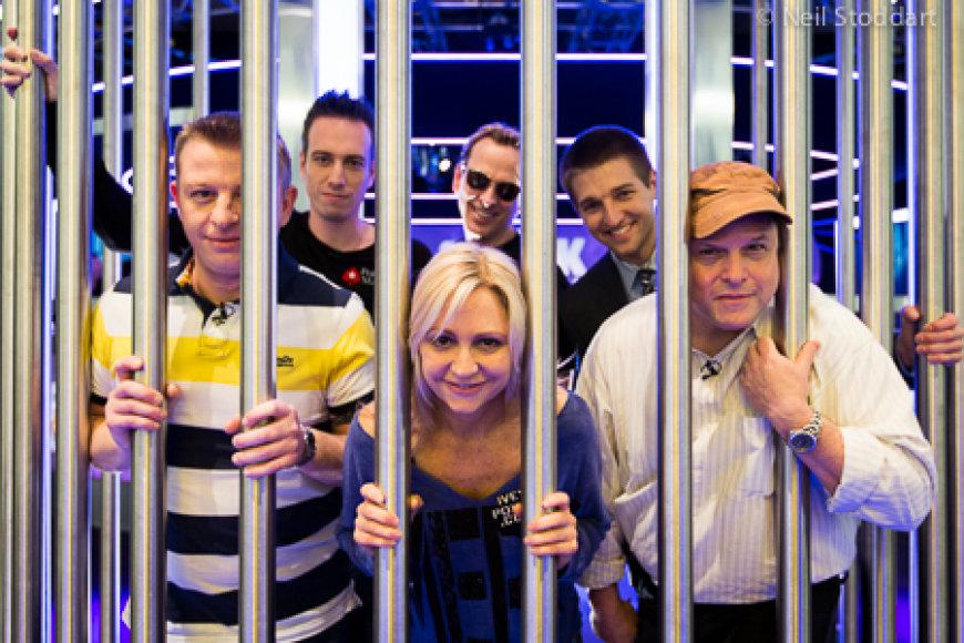 """""""Shark Cage"""" pokerio šou"""