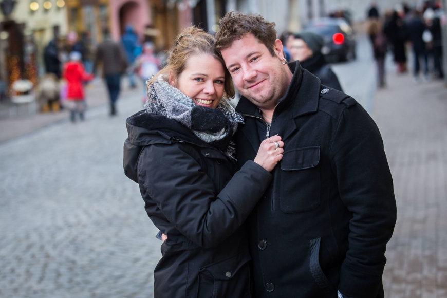 Luko Balandžio / 15min nuotr./Jonas Gricius ir Anke Lechner