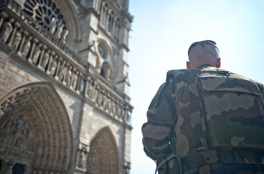 """""""Scanpix""""/""""SIPA"""" nuotr./Paryžiaus Dievo Motinos katedra"""
