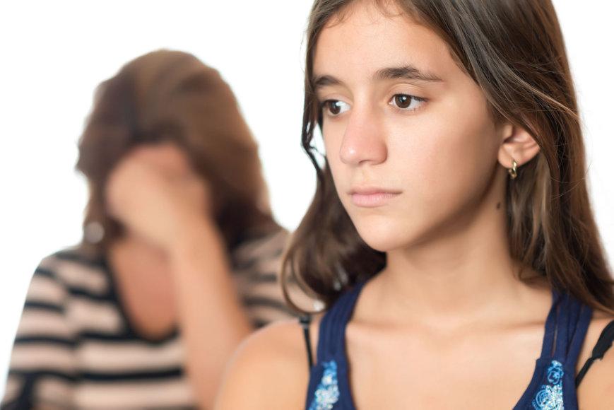 Liūdna mergina