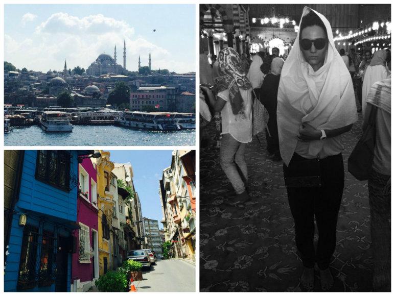 Agnės Gilytės atostogos Stambule