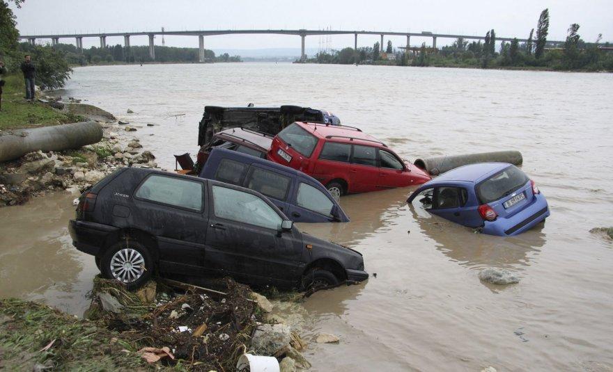 Potvynio padariniai Bulgarijoje