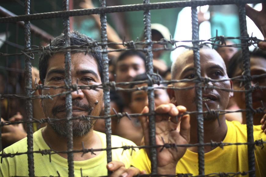Kaliniai Filipinų kalėjime