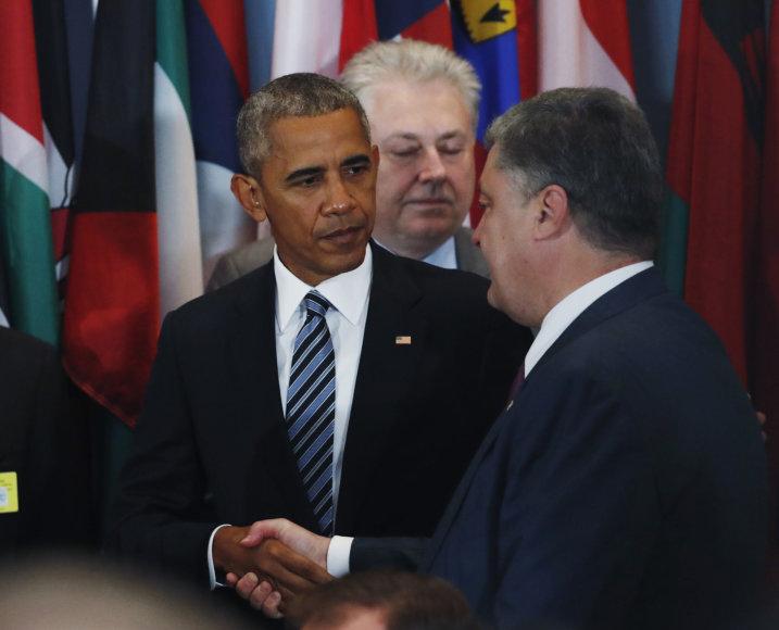 Petro Porošenka ir Barakas Obama