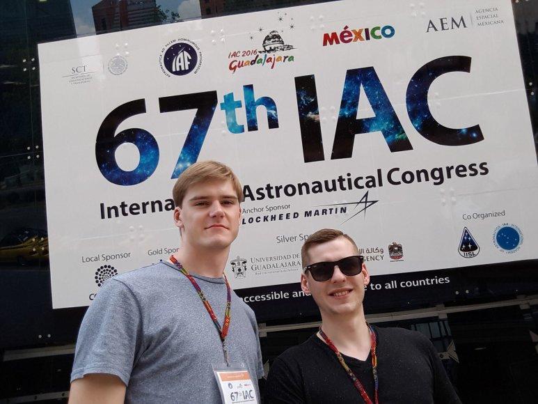 """""""Lietuva Mėnulyje 2018"""" organizatoriai – Tarptautiniame astronautikos kongrese Meksikoje"""