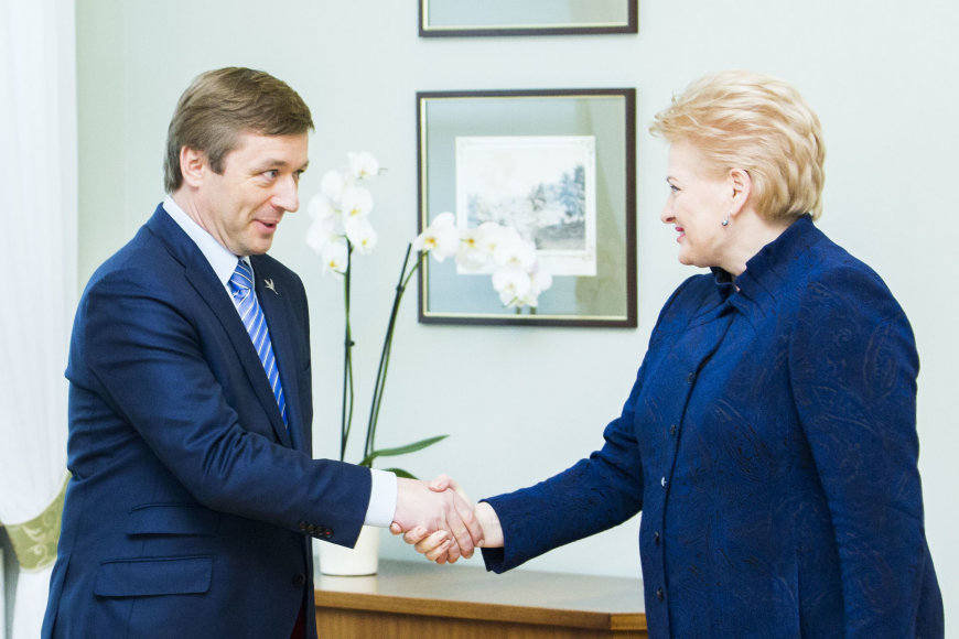 Ramūnas Karbauskis ir Dalia Grybauskaitė