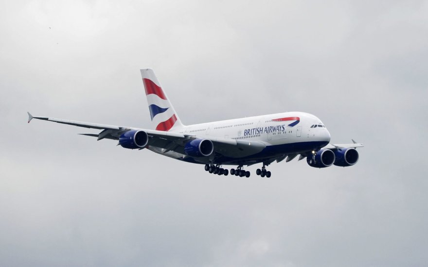 Britų oro linijų lėktuvas