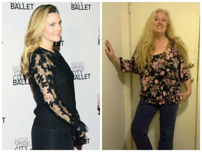 Drew Barrymore ir Jessica Barrymore