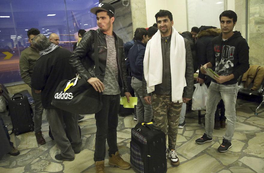Iš Vokietijos deportuoti afganistaniečiai