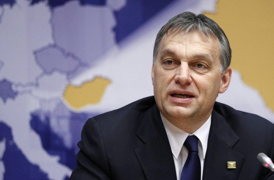 Vengrijos premjeras Viktoras Orbanas