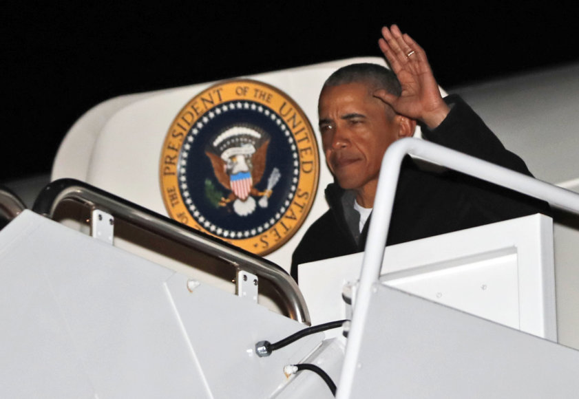 Barackas Obama ruošiasi atsisveikinti su JAV prezidento postu