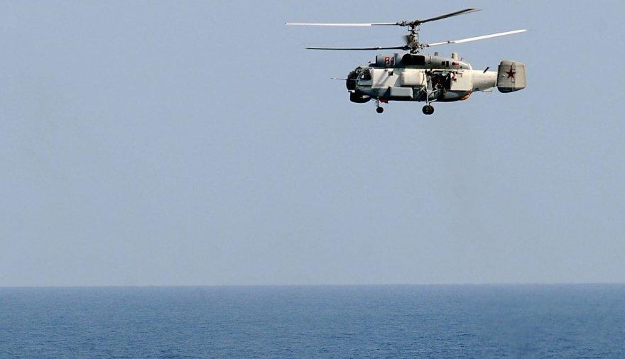 """Rusijos sraigtasparnis """"Ka-27"""""""