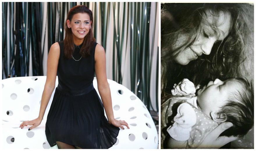 Dileta Meškaitė dabar ir kūdikystėje