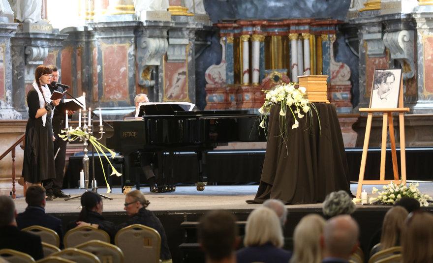 Atsisveikinimas su Gintaru Ruplėnu Šv.Kotrynos bažnyčioje