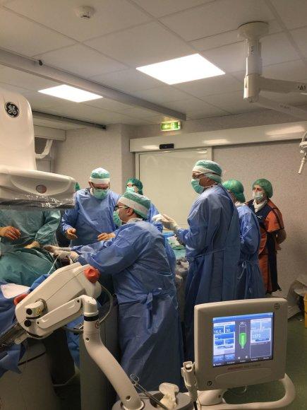 Aneurizmos operacija