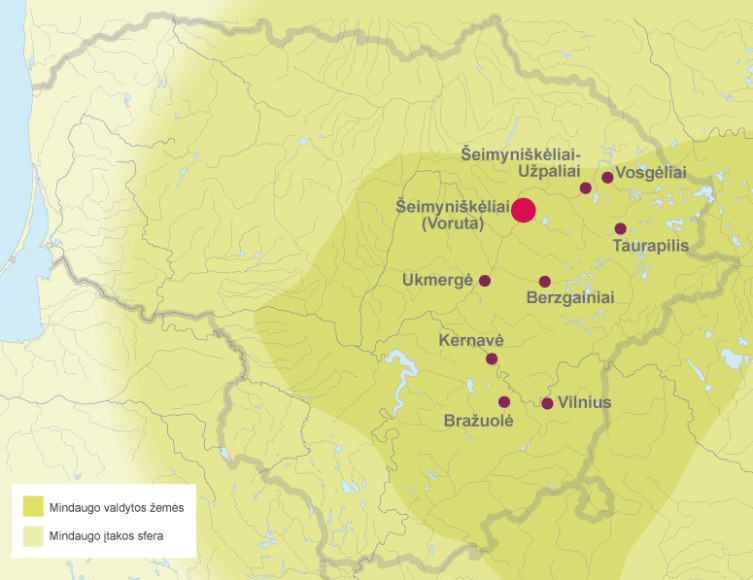 Mindaugo Lietuva 1248 metais