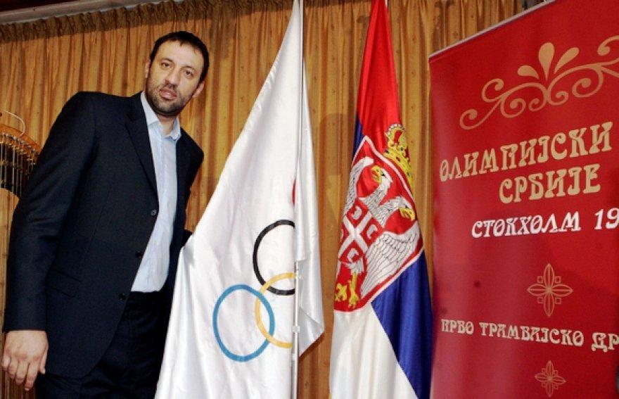 Serbijos Olimpiniam komitetui vadovaus Vlade Divacas