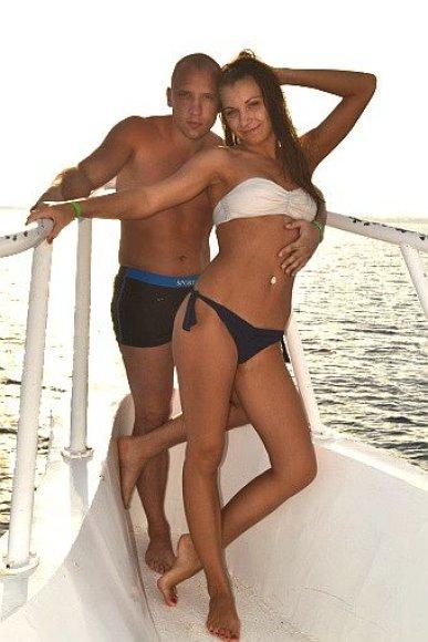 Bikinio porelė Aliona ir Sergejus