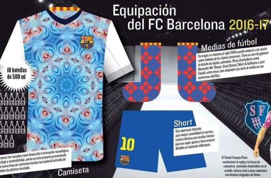 """""""Barcelona"""" marškinėliai - melagių dienos pokštas"""