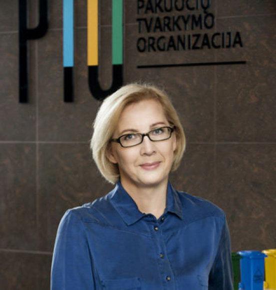 """Bena Razbadauskienė, VšĮ ,,Pakuočių tvarkymo organizacija"""" plėtros vadovė: """"Šiemet situacija keičiasi iš esmės – ateinančių metų pakuočių atliekų tvarkymu teks pasirūpinti dar šiemet""""."""