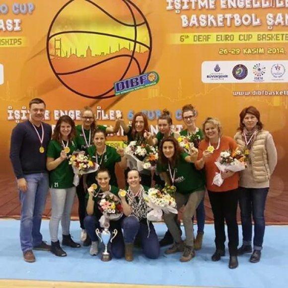 Lietuvos delegacija Europos kurčiųjų čempionate