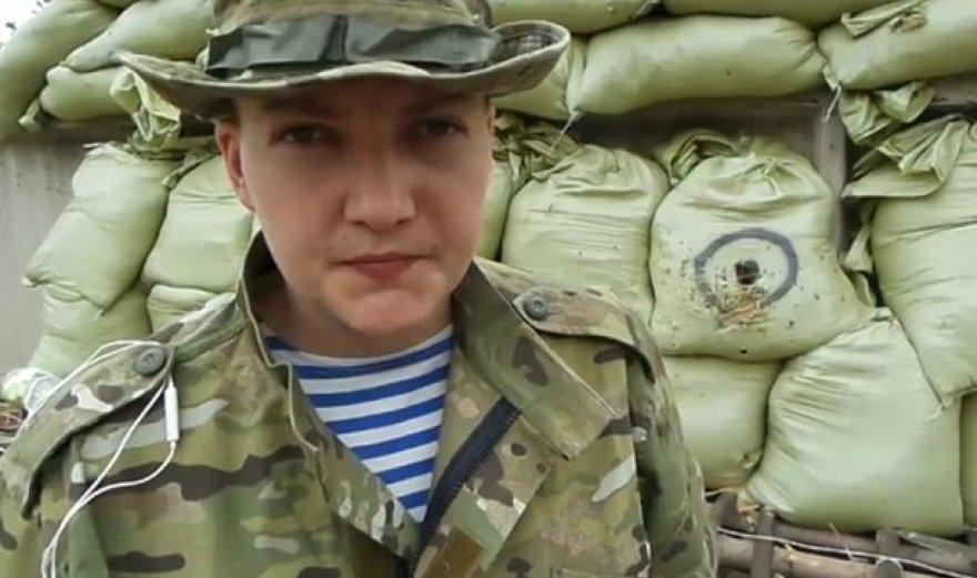 Ukrainiečių karininkė Nadia Savčenko