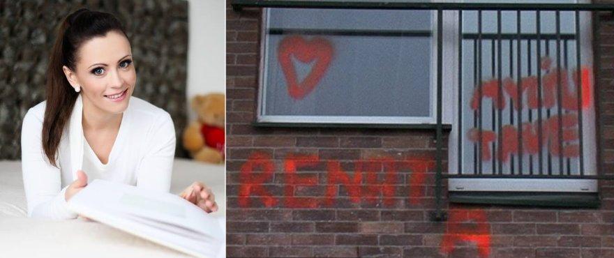 Renatos Klimaitytės namų langus išpaišė dažais