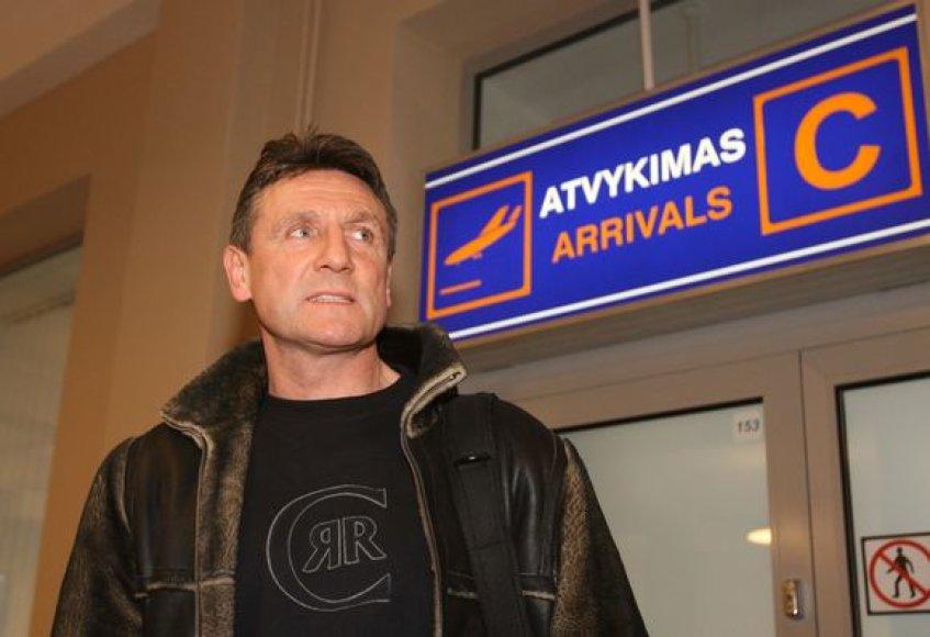 Treneris Valdemaras Chomičius