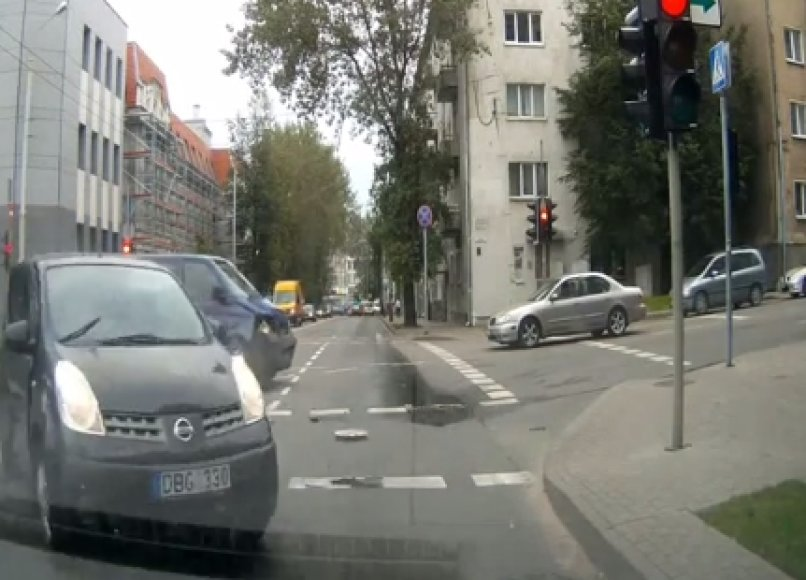 Avarija Vilniuje (Augustino stopkadras)
