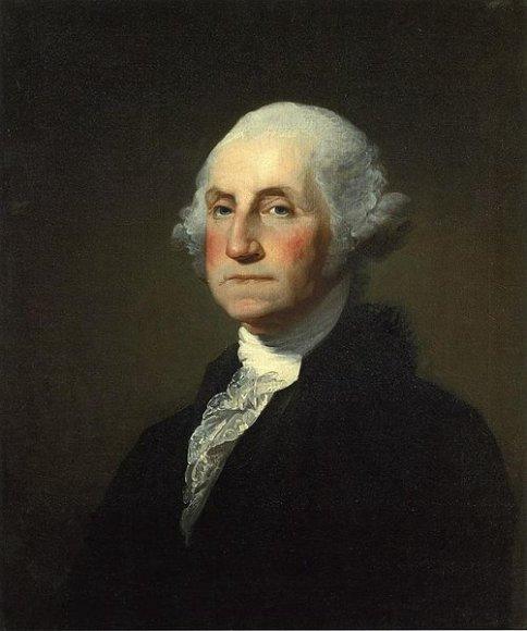 Gilberto Stuarto Williamstowno tapytas prezidento George'o Washingtono portretas