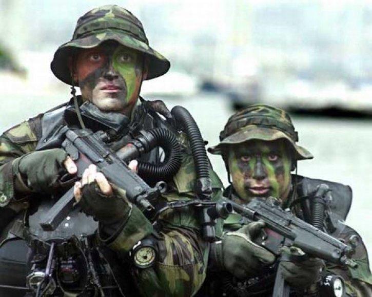 SEAL dalinio kariai (2004 metų nuotrauka)