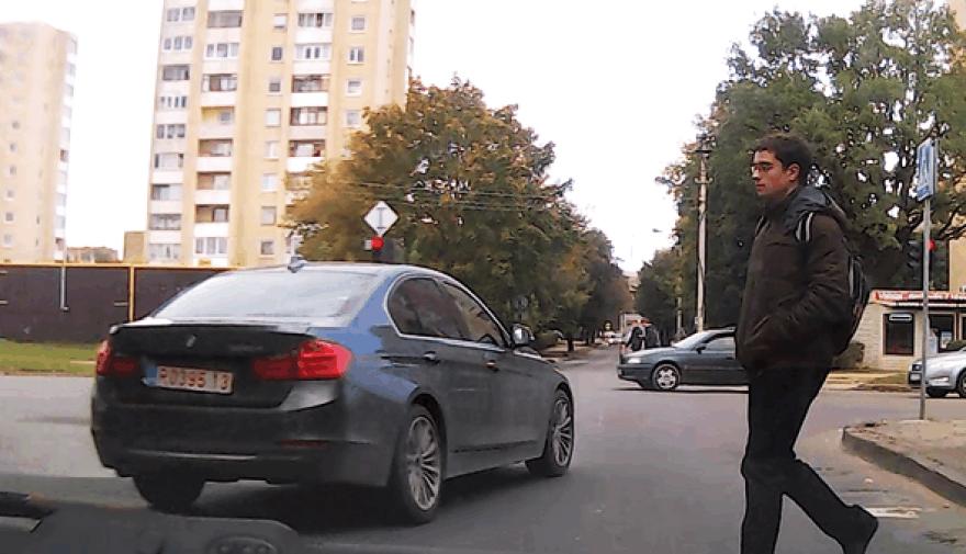 BMW be stabdžių