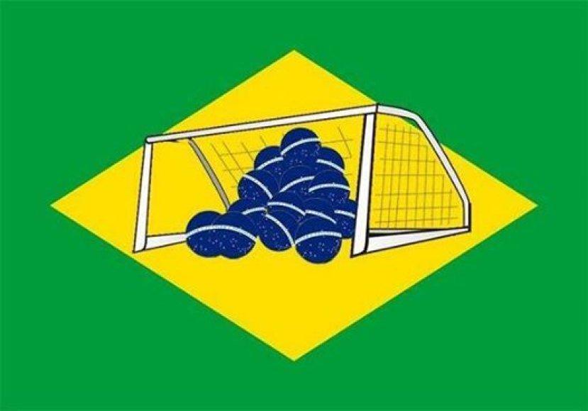 Nauja Brazilijos vėliava