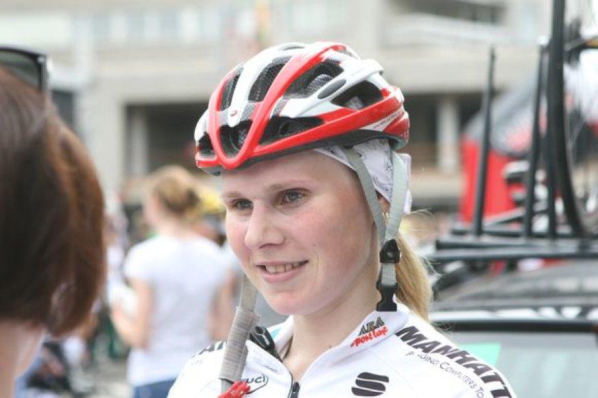 Lietuvos čempione moterų grupinėse lenktynėse tapo A.Trebaitė