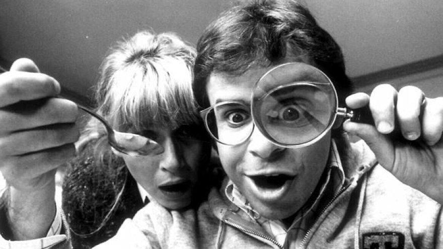 Marcia Strassman ir Rickis Moranis