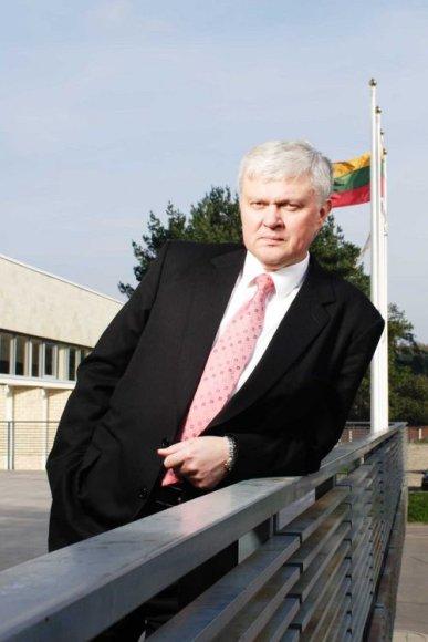 Vilniaus universiteto Tarptautinio verslo mokyklos (VU TVM) direktorius Julius Niedvaras